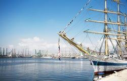 国际赛船会 瓦尔纳,保加利亚 图库摄影