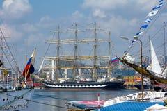 国际赛船会 瓦尔纳,保加利亚 库存照片