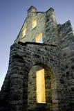 城堡光 免版税库存照片