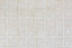 铺磁砖的墙壁纹理背景 免版税库存照片