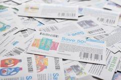 加拿大优惠券背景 免版税库存图片