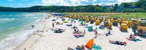 德国公开海滩 库存图片