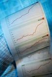 Курсы акций Стоковая Фотография RF