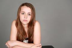 女孩俏丽的非离子活性剂 图库摄影