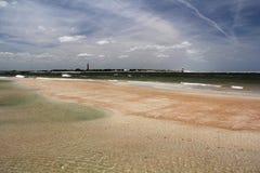 пляж сценарный Стоковая Фотография