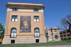 历史和艺术,阿尔巴尼,纽约阿尔巴尼学院 库存照片