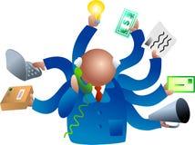 繁忙的商业 免版税库存图片