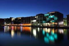 内在港口在芒斯特,德国 免版税图库摄影