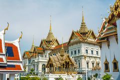 曼谷全部宫殿 免版税库存照片