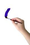 ζωγραφική χεριών Στοκ φωτογραφία με δικαίωμα ελεύθερης χρήσης