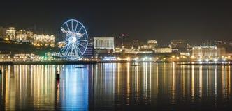 Панорама Баку Стоковые Изображения RF