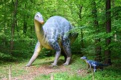 侏罗纪公园-恐龙妖怪 免版税库存照片