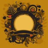 знамя круглое Стоковое Фото