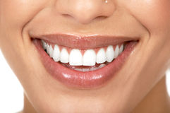牙妇女 免版税库存照片