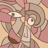 Редкая сторона мозаики Стоковое Изображение RF