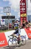 澳大利亚骑自行车者西蒙克拉克 库存图片