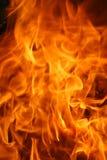 灼烧的火焰纹理 免版税图库摄影