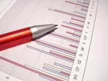 统计数据 免版税库存照片