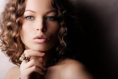 красивейшая женщина Стоковое Изображение