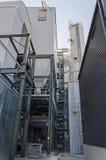 一部分的工业能源厂 免版税库存图片