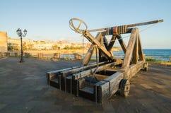 阿尔盖罗,撒丁岛海岛,意大利 库存图片