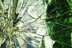 抽象背景 残破的镜子 免版税库存照片