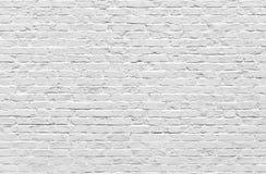 Άσπρος τουβλότοιχος Στοκ φωτογραφία με δικαίωμα ελεύθερης χρήσης