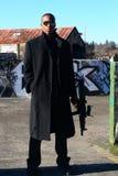 攻击人步枪 免版税库存照片