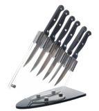 установленные ножи кухни Стоковые Фотографии RF