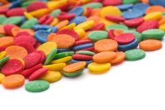 五颜六色的糖果五彩纸屑 免版税库存图片