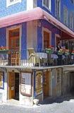 传统葡萄牙餐馆,辛特拉,葡萄牙 免版税库存图片