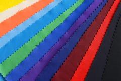 五颜六色的布料 库存照片