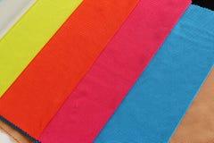五颜六色的布料 免版税库存图片