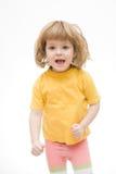 婴孩运行 免版税图库摄影