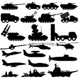 军用设备 免版税库存照片