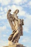 天使雕象 图库摄影