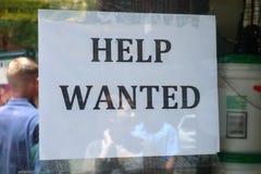 хотят помощь, котор Стоковое Фото