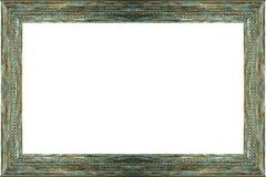 Античное деревянное изображение рамки Стоковые Фотографии RF