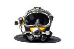 现代潜水盔甲 库存图片