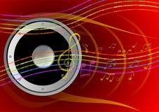 предпосылка может различные используемые цели нот иллюстрации Стоковое Изображение RF