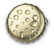 ΚΑΠ μπουκαλιών μπύρας Στοκ φωτογραφία με δικαίωμα ελεύθερης χρήσης