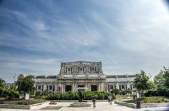 中央米兰火车站 图库摄影