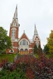 教会路德教会 图库摄影