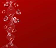 вектор иллюстрации предпосылки романтичный Стоковые Фото
