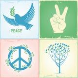 和平集合符号 免版税图库摄影