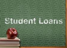 学生贷款为您的教育是沉默寡言的 免版税库存照片