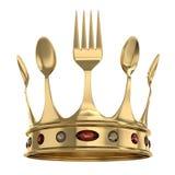 厨房的国王 免版税库存照片