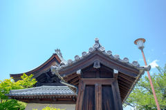 Ιαπωνικό κτήριο Στοκ φωτογραφία με δικαίωμα ελεύθερης χρήσης