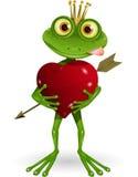 青蛙公主 免版税图库摄影