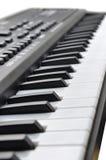 音乐键盘键 免版税库存照片